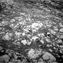 Nasa's Mars rover Curiosity acquired this image using its Right Navigation Camera on Sol 2128, at drive 1196, site number 72