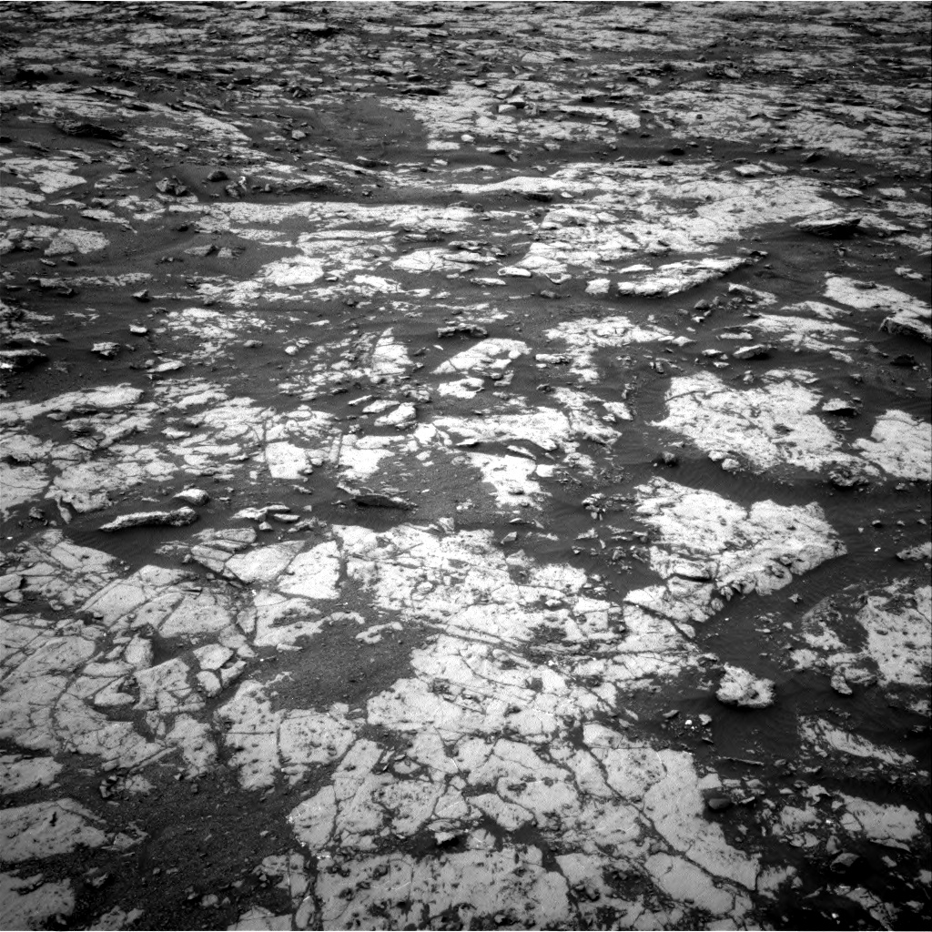 Nasa's Mars rover Curiosity acquired this image using its Right Navigation Camera on Sol 2128, at drive 1256, site number 72