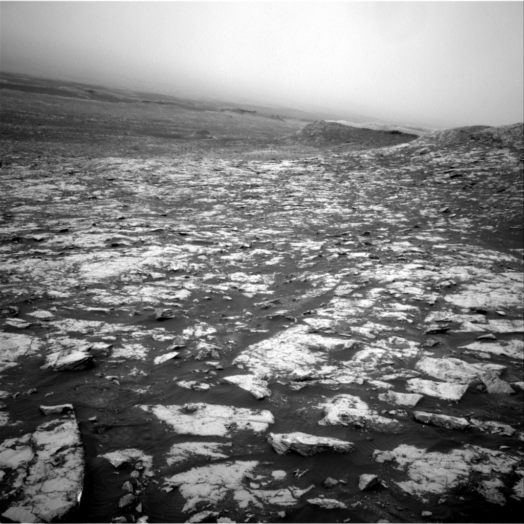 Nasa's Mars rover Curiosity acquired this image using its Right Navigation Camera on Sol 2128, at drive 1286, site number 72