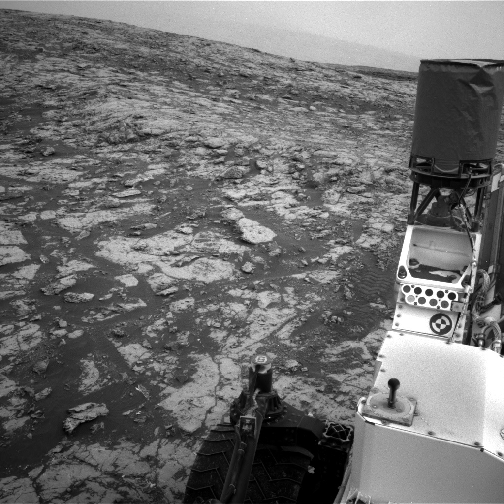 NASA's Mars rover Curiosity acquired this image using its Right Navigation Cameras (Navcams) on Sol 2128
