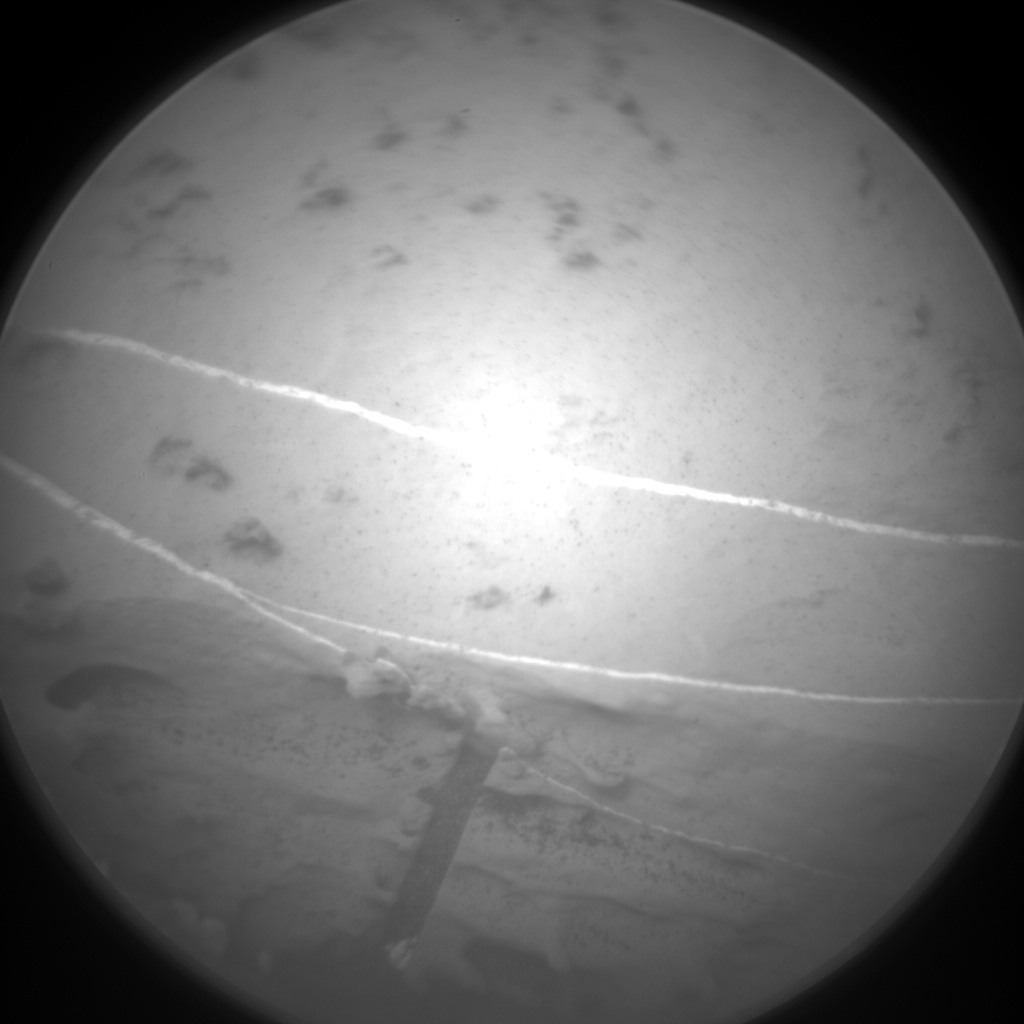 Nasa's Mars rover Curiosity acquired this image using its Chemistry & Camera (ChemCam) on Sol 2129, at drive 1286, site number 72