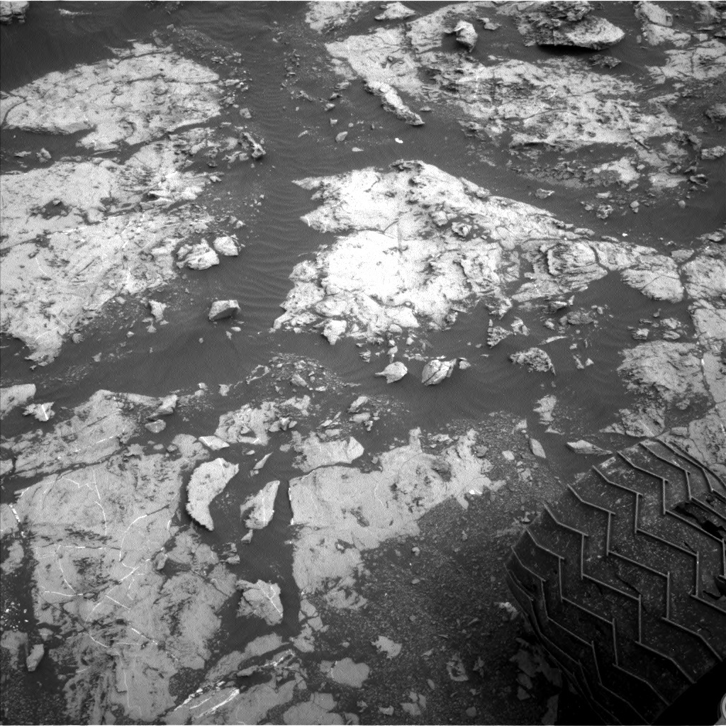NASA's Mars rover Curiosity acquired this image using its Left Navigation Camera (Navcams) on Sol 2129