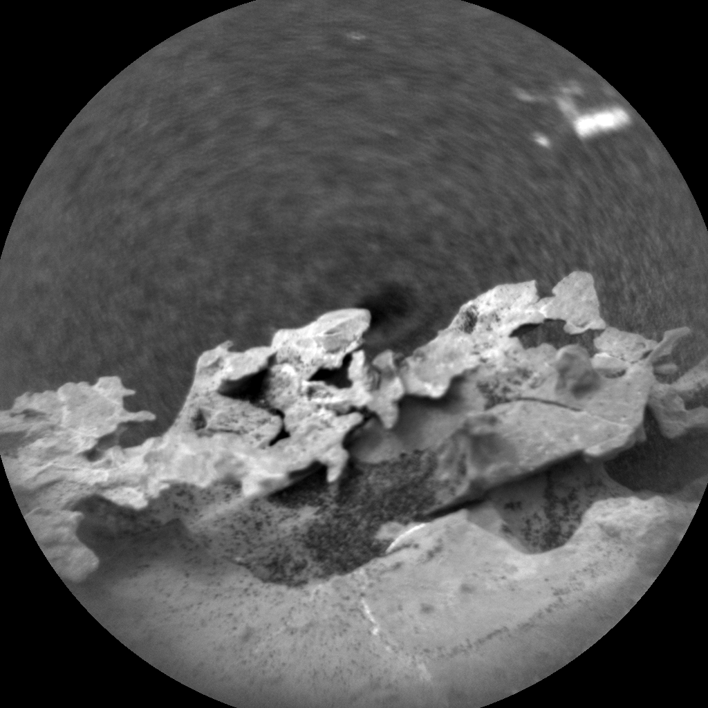 Nasa's Mars rover Curiosity acquired this image using its Chemistry & Camera (ChemCam) on Sol 2130, at drive 1286, site number 72