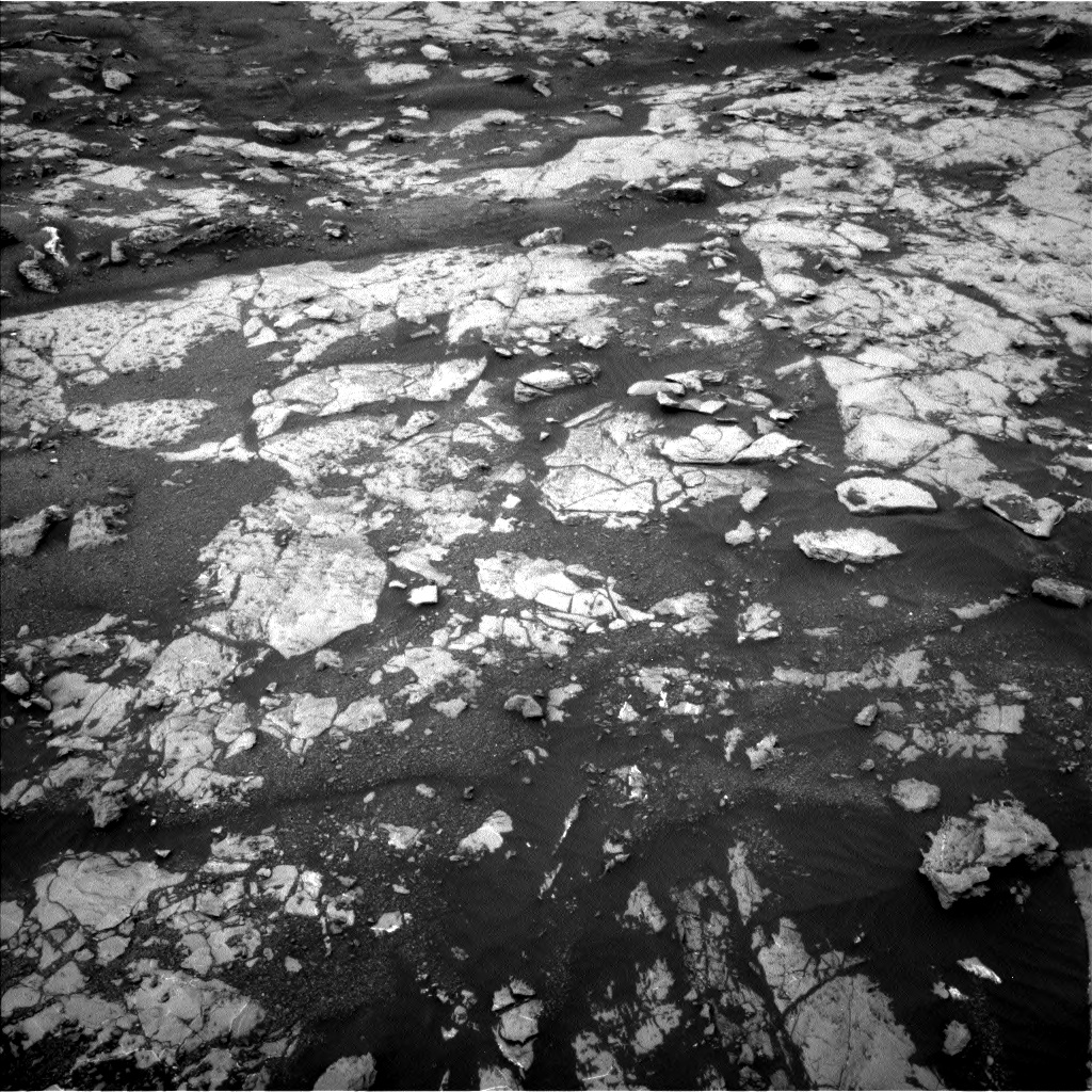 Nasa's Mars rover Curiosity acquired this image using its Left Navigation Camera on Sol 2132, at drive 1286, site number 72