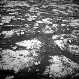Nasa's Mars rover Curiosity acquired this image using its Left Navigation Camera on Sol 2132, at drive 1292, site number 72