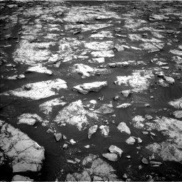 Nasa's Mars rover Curiosity acquired this image using its Left Navigation Camera on Sol 2132, at drive 1304, site number 72