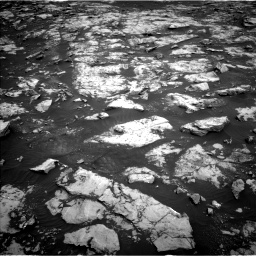 Nasa's Mars rover Curiosity acquired this image using its Left Navigation Camera on Sol 2132, at drive 1310, site number 72