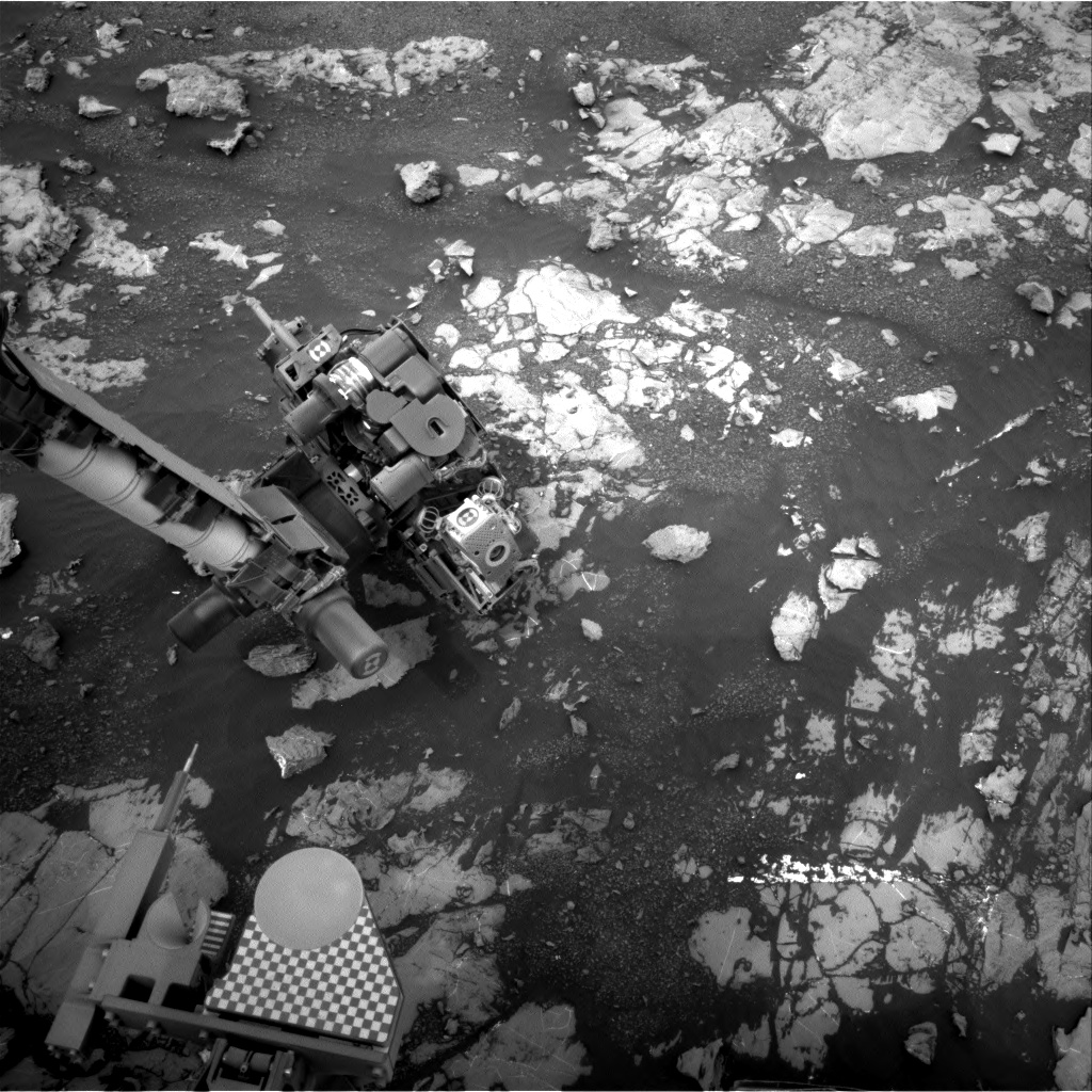 Nasa's Mars rover Curiosity acquired this image using its Right Navigation Camera on Sol 2132, at drive 1286, site number 72