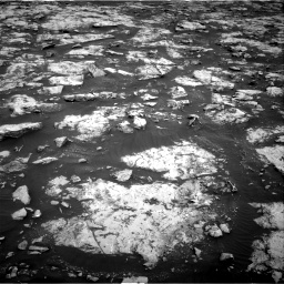 Nasa's Mars rover Curiosity acquired this image using its Right Navigation Camera on Sol 2132, at drive 1298, site number 72