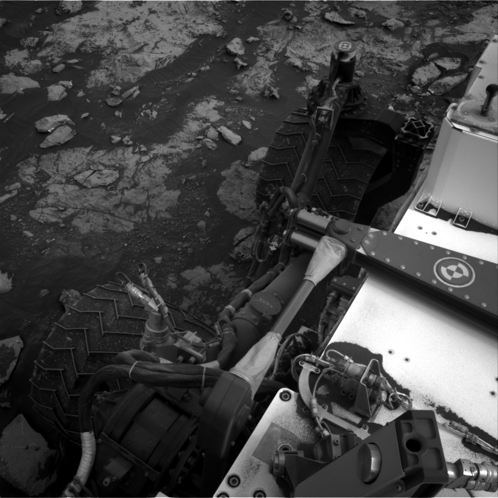 NASA's Mars rover Curiosity acquired this image using its Right Navigation Cameras (Navcams) on Sol 2132