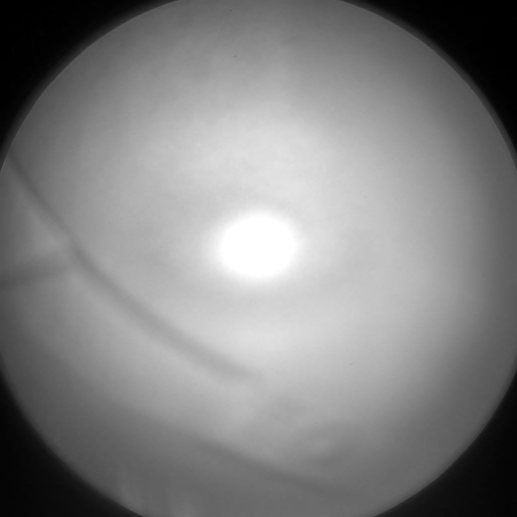 Nasa's Mars rover Curiosity acquired this image using its Chemistry & Camera (ChemCam) on Sol 2133, at drive 1316, site number 72
