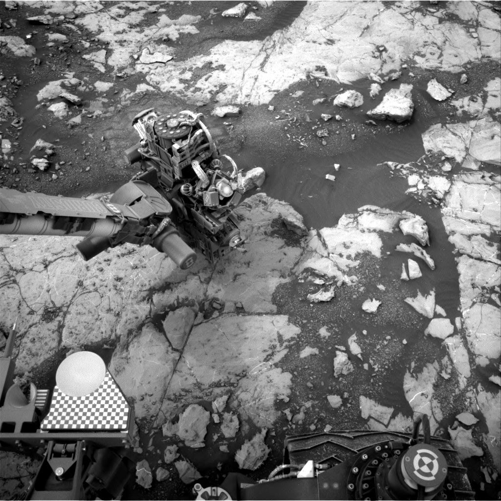 Nasa's Mars rover Curiosity acquired this image using its Right Navigation Camera on Sol 2134, at drive 1316, site number 72