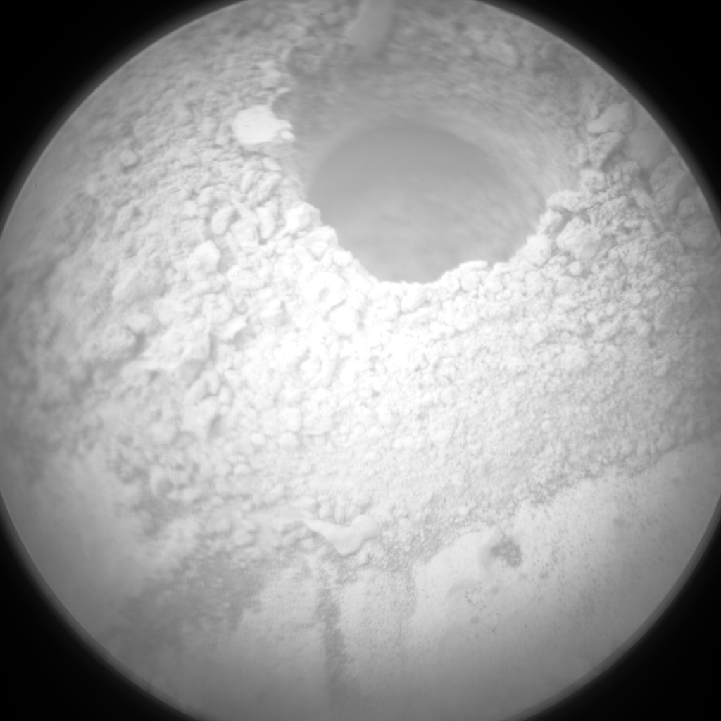 Nasa's Mars rover Curiosity acquired this image using its Chemistry & Camera (ChemCam) on Sol 2136, at drive 1316, site number 72