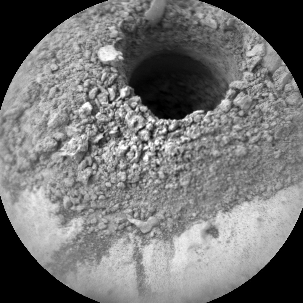 NASA's Mars rover Curiosity acquired this image using its Chemistry & Camera (ChemCam) on Sol 2136