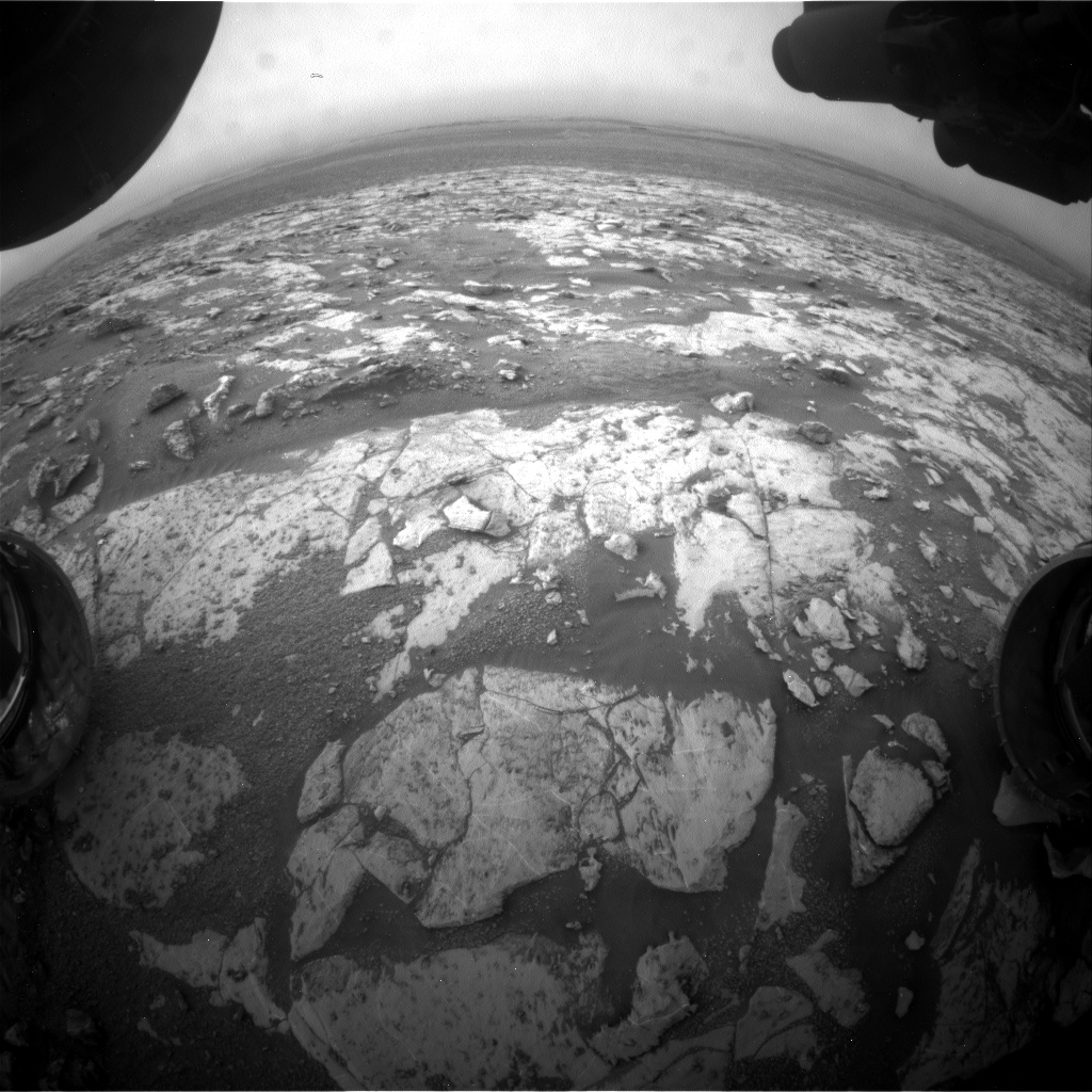 Nasa's Mars rover Curiosity acquired this image using its Front Hazard Avoidance Camera (Front Hazcam) on Sol 2139, at drive 1316, site number 72