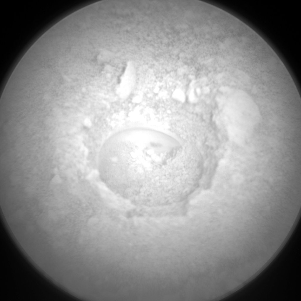 Nasa's Mars rover Curiosity acquired this image using its Chemistry & Camera (ChemCam) on Sol 2142, at drive 1316, site number 72