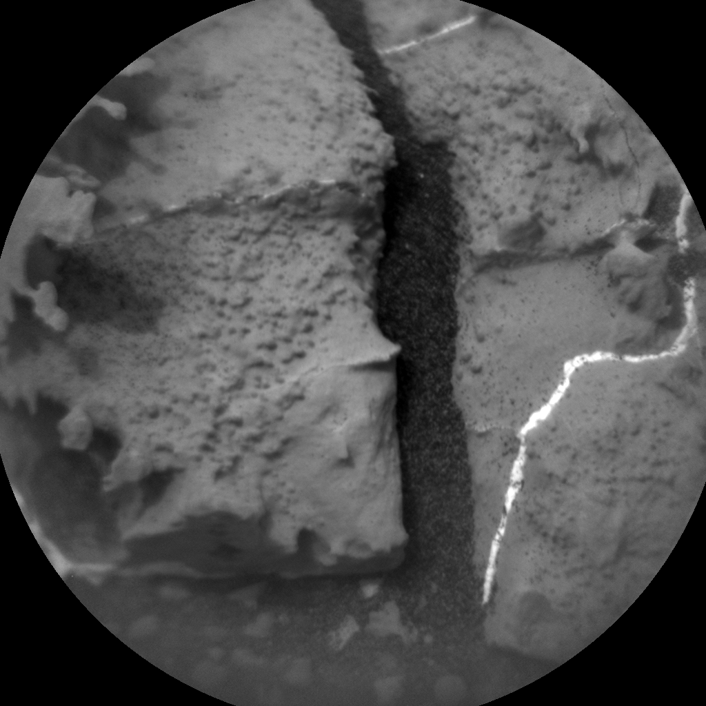 Nasa's Mars rover Curiosity acquired this image using its Chemistry & Camera (ChemCam) on Sol 2143, at drive 1316, site number 72