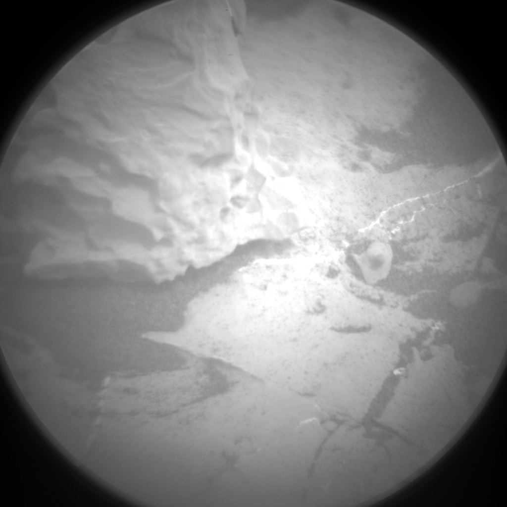 Nasa's Mars rover Curiosity acquired this image using its Chemistry & Camera (ChemCam) on Sol 2145, at drive 1316, site number 72