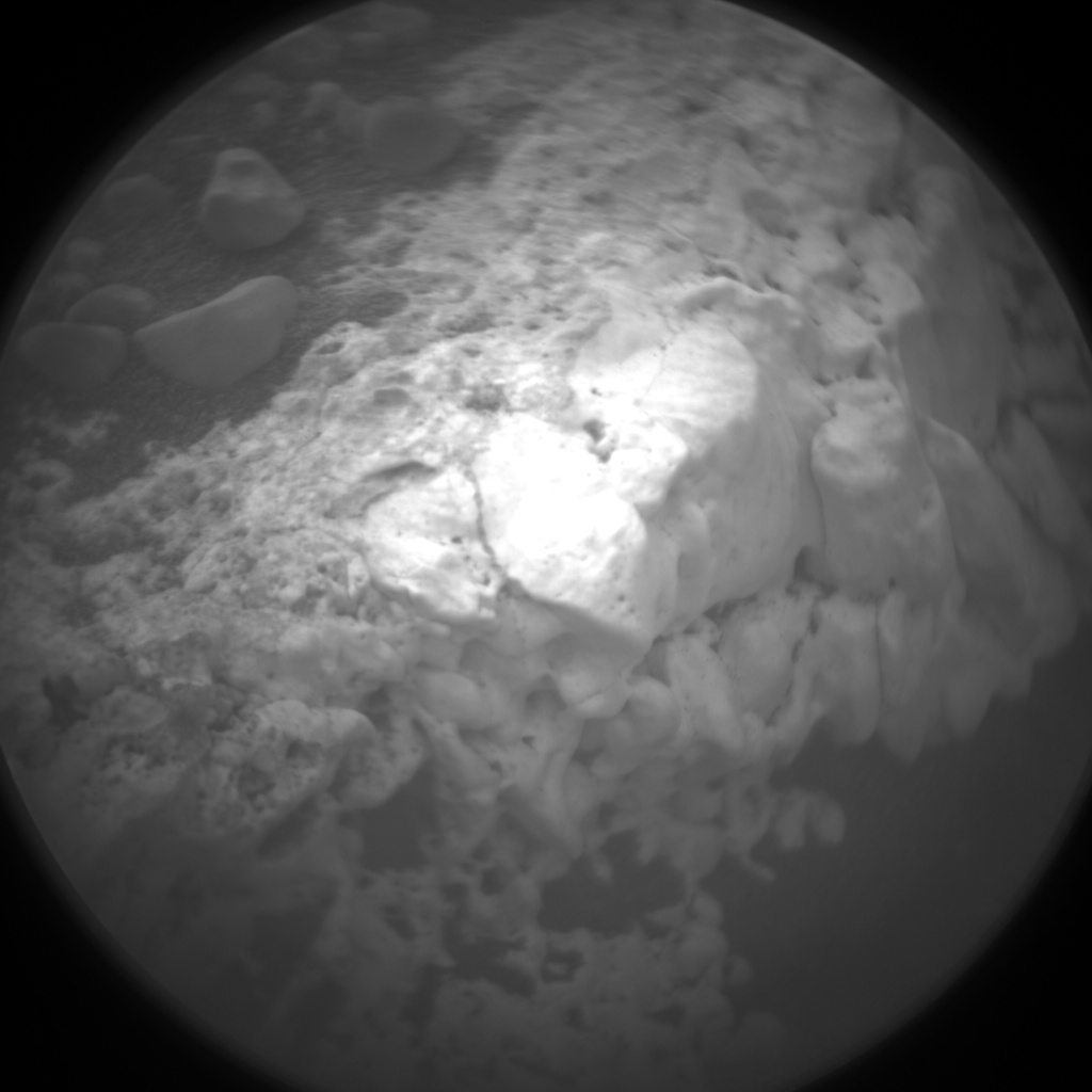 Nasa's Mars rover Curiosity acquired this image using its Chemistry & Camera (ChemCam) on Sol 2146, at drive 1316, site number 72