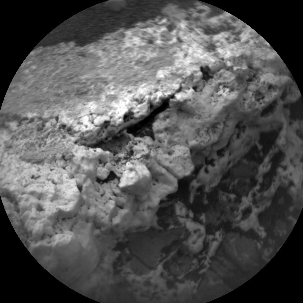 NASA's Mars rover Curiosity acquired this image using its Chemistry & Camera (ChemCam) on Sol 2146