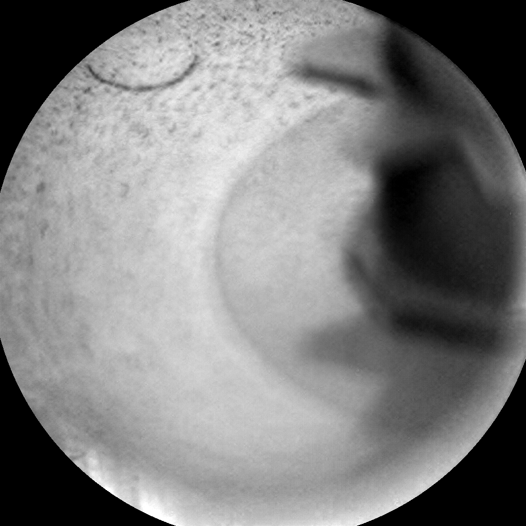 Nasa's Mars rover Curiosity acquired this image using its Chemistry & Camera (ChemCam) on Sol 2147, at drive 1316, site number 72