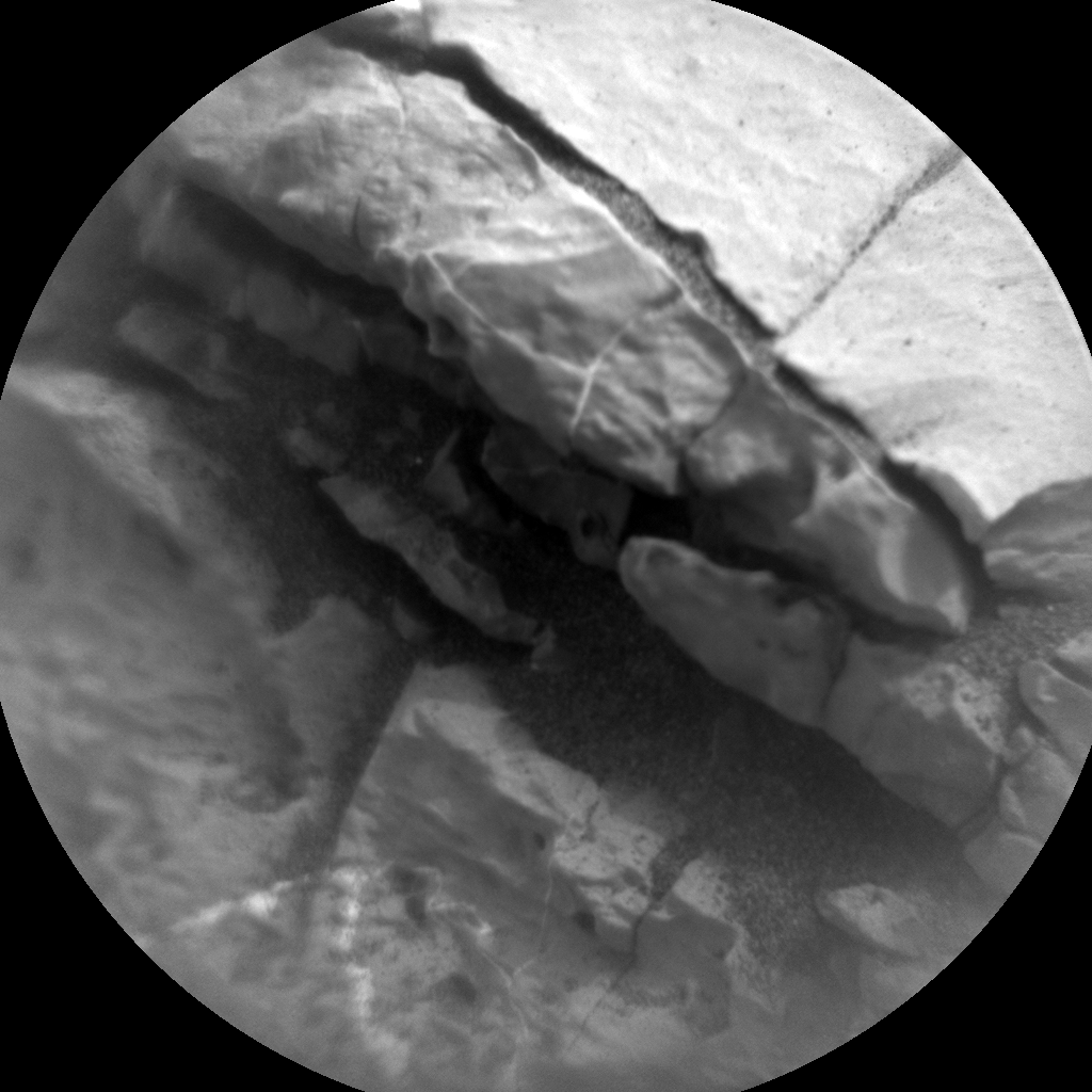 Nasa's Mars rover Curiosity acquired this image using its Chemistry & Camera (ChemCam) on Sol 2149, at drive 1316, site number 72