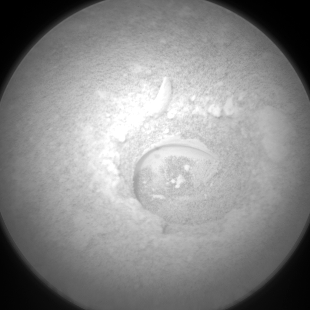 Nasa's Mars rover Curiosity acquired this image using its Chemistry & Camera (ChemCam) on Sol 2150, at drive 1316, site number 72