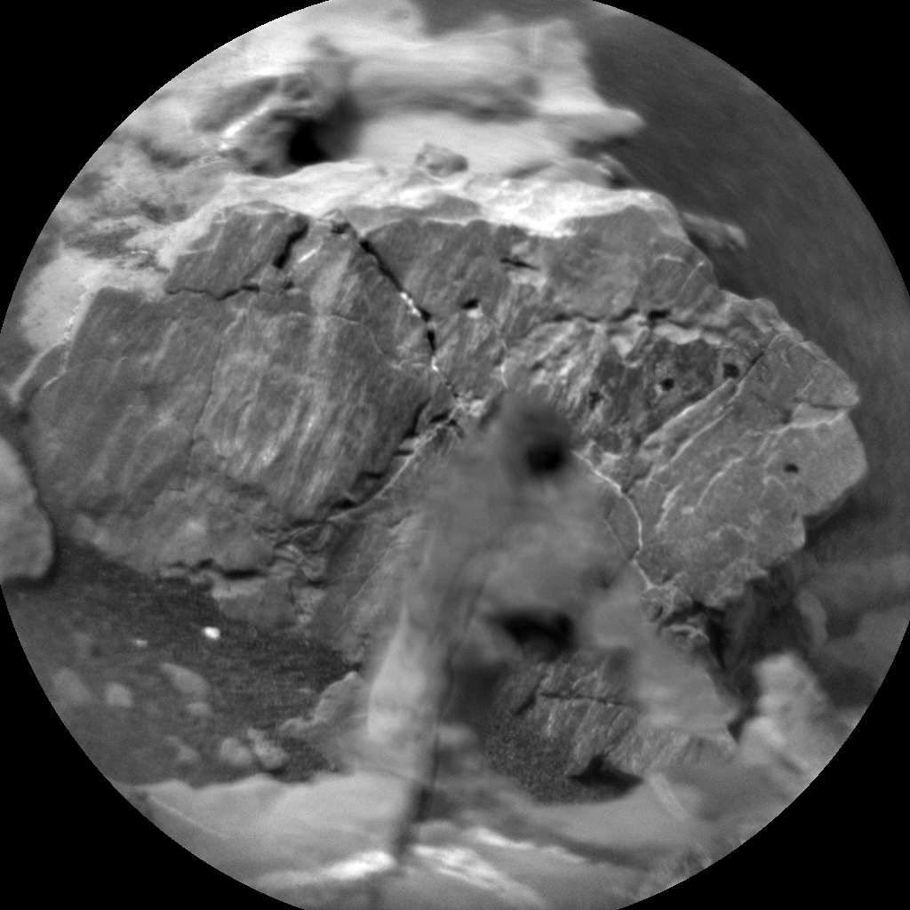 Nasa's Mars rover Curiosity acquired this image using its Chemistry & Camera (ChemCam) on Sol 2152, at drive 1316, site number 72