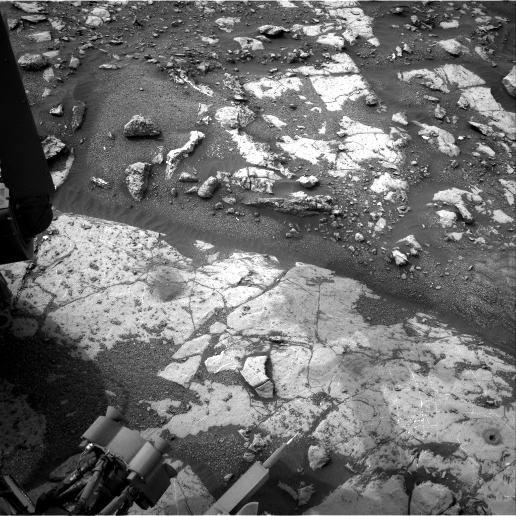 Nasa's Mars rover Curiosity acquired this image using its Right Navigation Camera on Sol 2154, at drive 1316, site number 72
