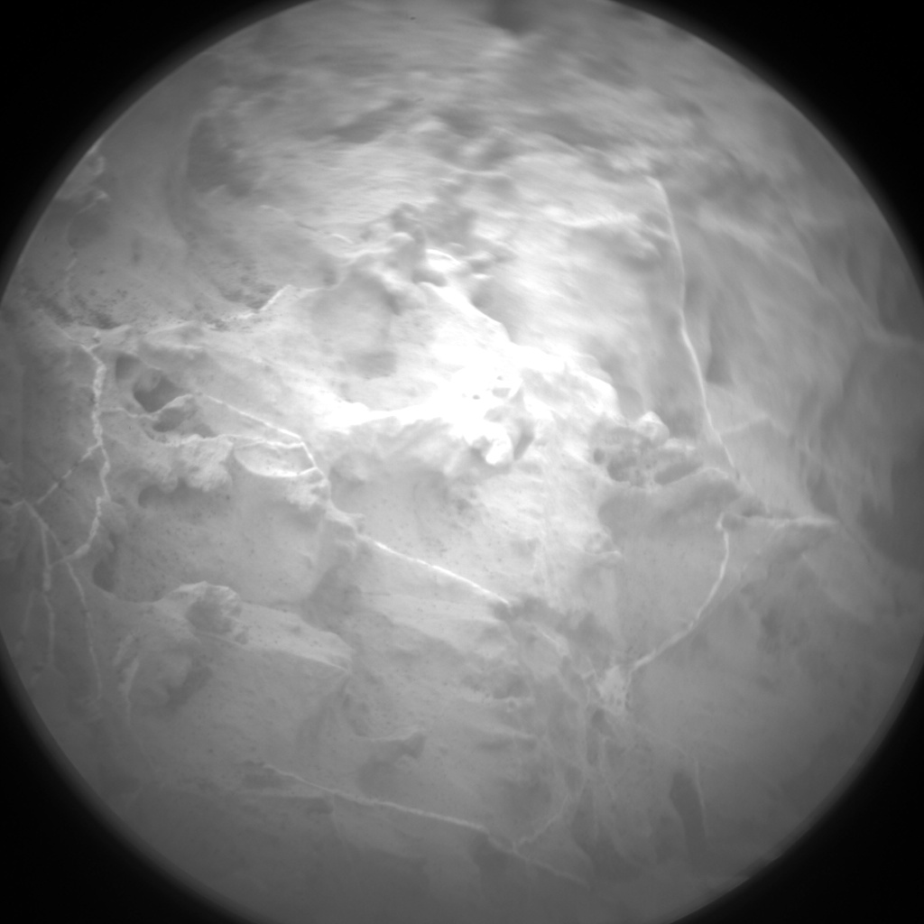 Nasa's Mars rover Curiosity acquired this image using its Chemistry & Camera (ChemCam) on Sol 2155, at drive 1316, site number 72