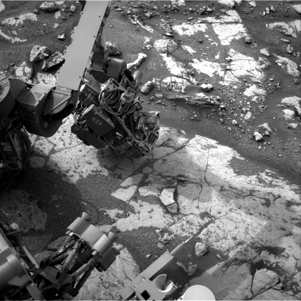 Nasa's Mars rover Curiosity acquired this image using its Right Navigation Camera on Sol 2155, at drive 1316, site number 72