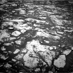 Nasa's Mars rover Curiosity acquired this image using its Left Navigation Camera on Sol 2156, at drive 1382, site number 72