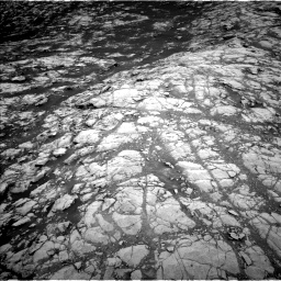 Nasa's Mars rover Curiosity acquired this image using its Left Navigation Camera on Sol 2156, at drive 1406, site number 72