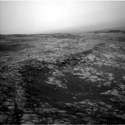 Nasa's Mars rover Curiosity acquired this image using its Left Navigation Camera on Sol 2156, at drive 1508, site number 72