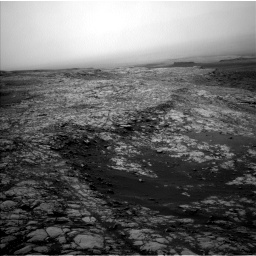Nasa's Mars rover Curiosity acquired this image using its Left Navigation Camera on Sol 2156, at drive 1520, site number 72