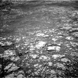 Nasa's Mars rover Curiosity acquired this image using its Left Navigation Camera on Sol 2156, at drive 1586, site number 72