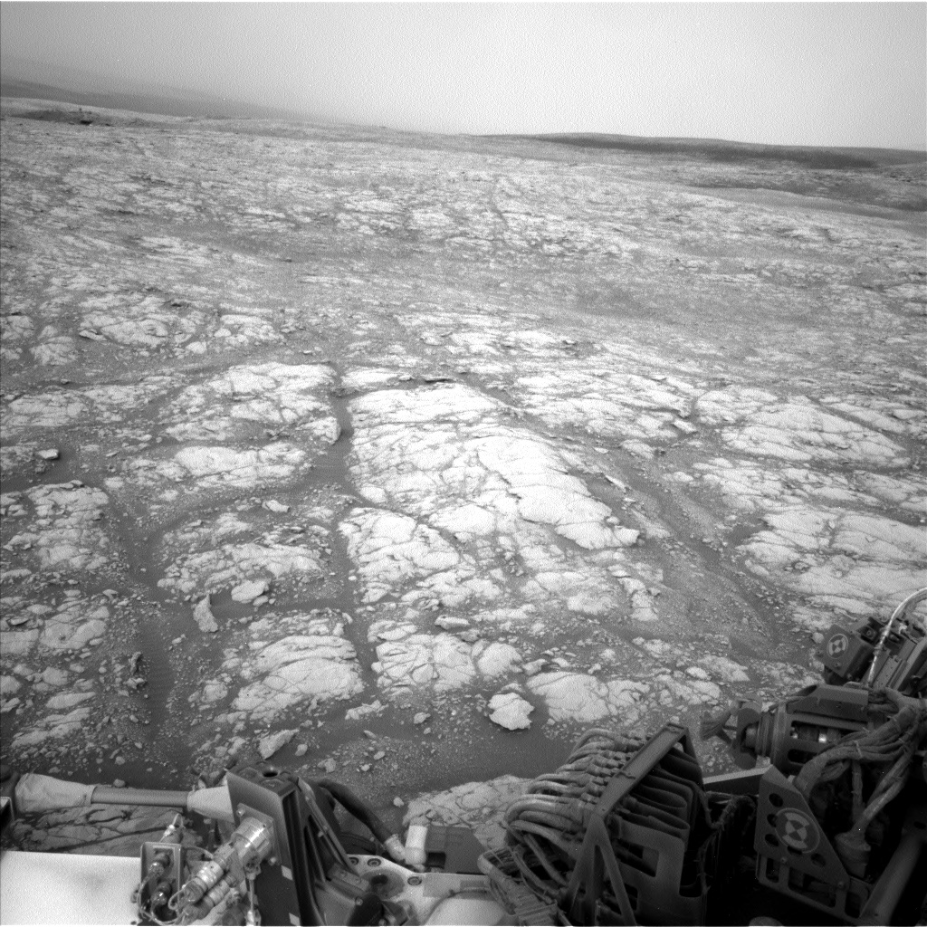 Nasa's Mars rover Curiosity acquired this image using its Left Navigation Camera on Sol 2156, at drive 1616, site number 72