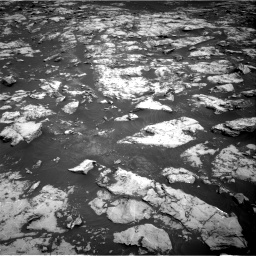 Nasa's Mars rover Curiosity acquired this image using its Right Navigation Camera on Sol 2156, at drive 1316, site number 72