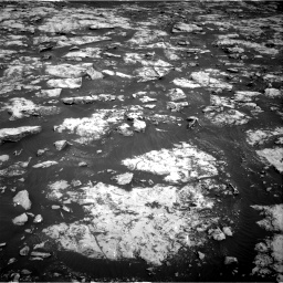 Nasa's Mars rover Curiosity acquired this image using its Right Navigation Camera on Sol 2156, at drive 1334, site number 72