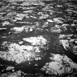 Nasa's Mars rover Curiosity acquired this image using its Right Navigation Camera on Sol 2156, at drive 1352, site number 72