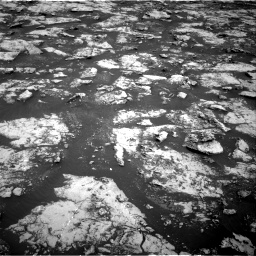 Nasa's Mars rover Curiosity acquired this image using its Right Navigation Camera on Sol 2156, at drive 1358, site number 72