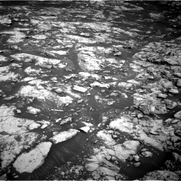 Nasa's Mars rover Curiosity acquired this image using its Right Navigation Camera on Sol 2156, at drive 1388, site number 72