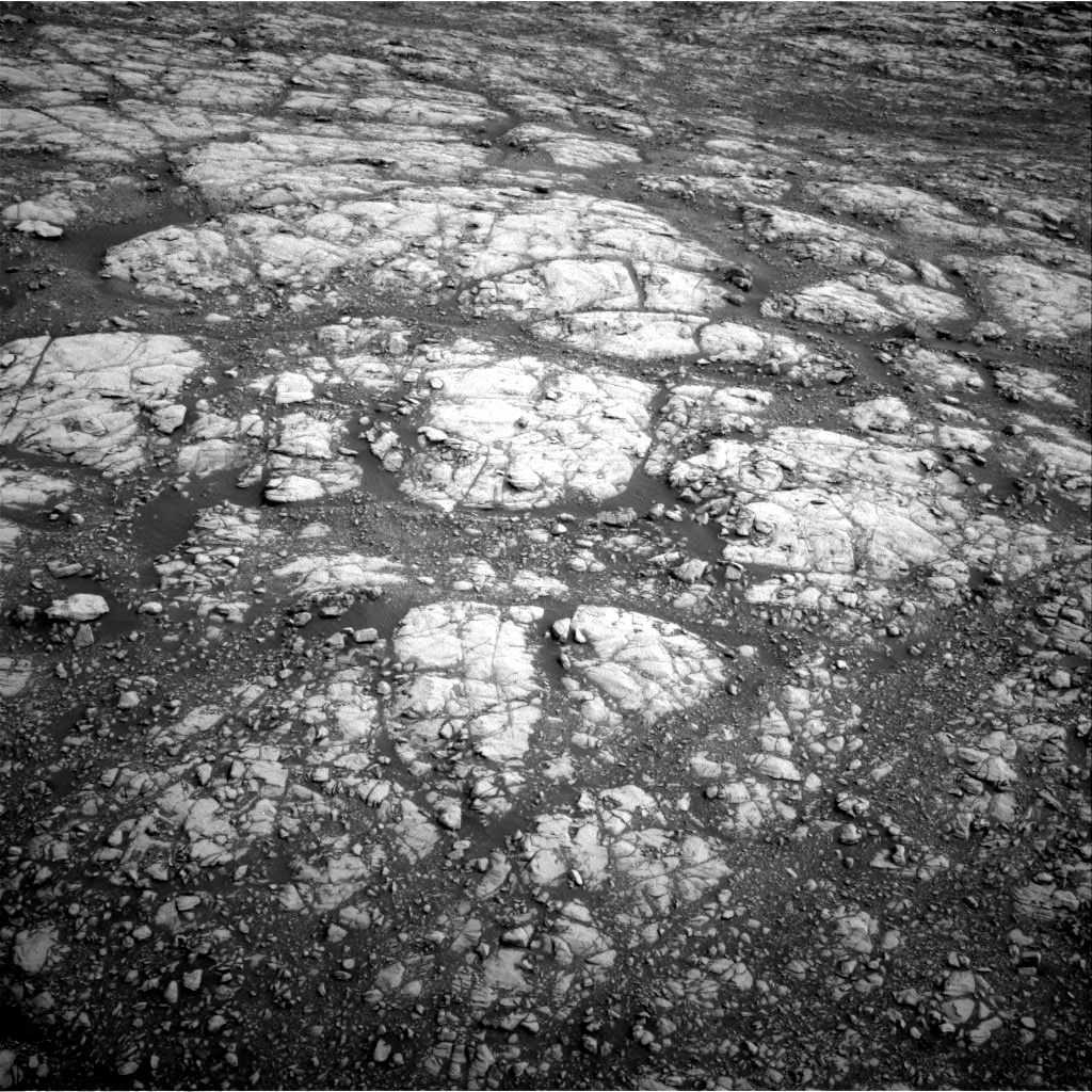 Nasa's Mars rover Curiosity acquired this image using its Right Navigation Camera on Sol 2156, at drive 1580, site number 72