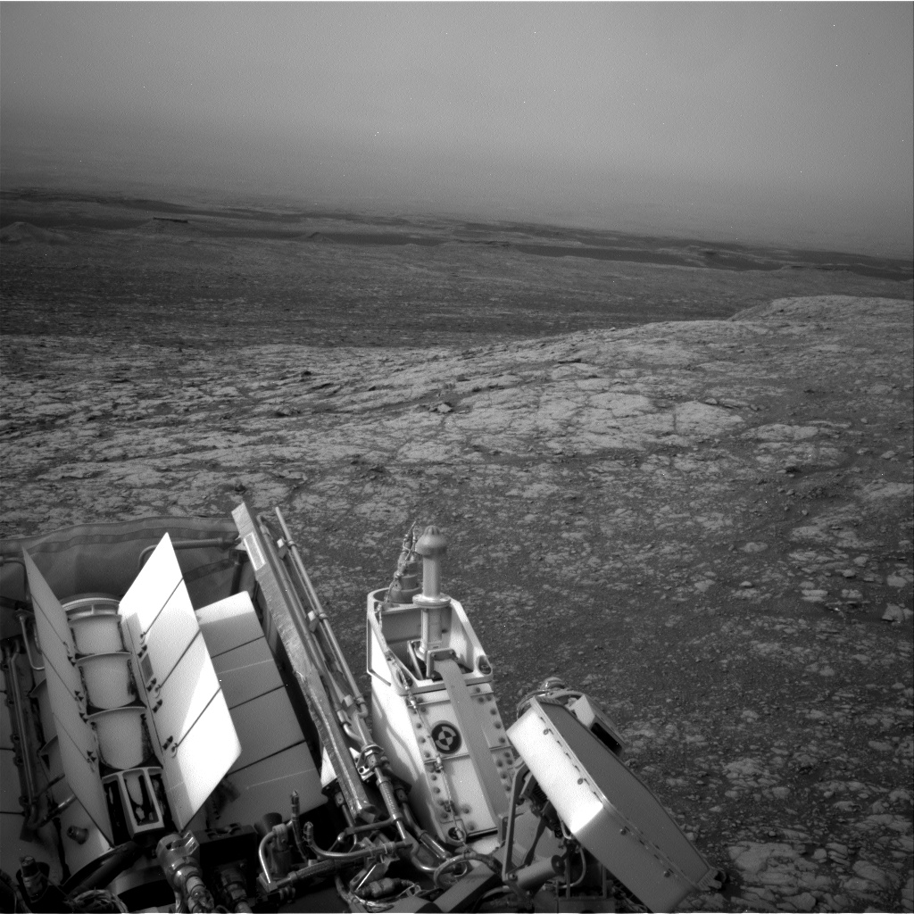 Nasa's Mars rover Curiosity acquired this image using its Right Navigation Camera on Sol 2156, at drive 1616, site number 72