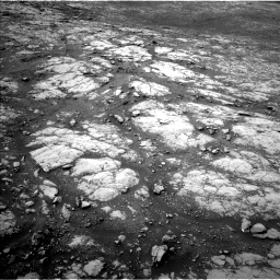Nasa's Mars rover Curiosity acquired this image using its Left Navigation Camera on Sol 2157, at drive 1694, site number 72