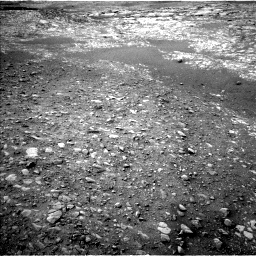 Nasa's Mars rover Curiosity acquired this image using its Left Navigation Camera on Sol 2157, at drive 1778, site number 72