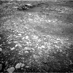 Nasa's Mars rover Curiosity acquired this image using its Left Navigation Camera on Sol 2157, at drive 1946, site number 72