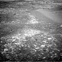NASA's Mars rover Curiosity acquired this image using its Left Navigation Camera (Navcams) on Sol 2157