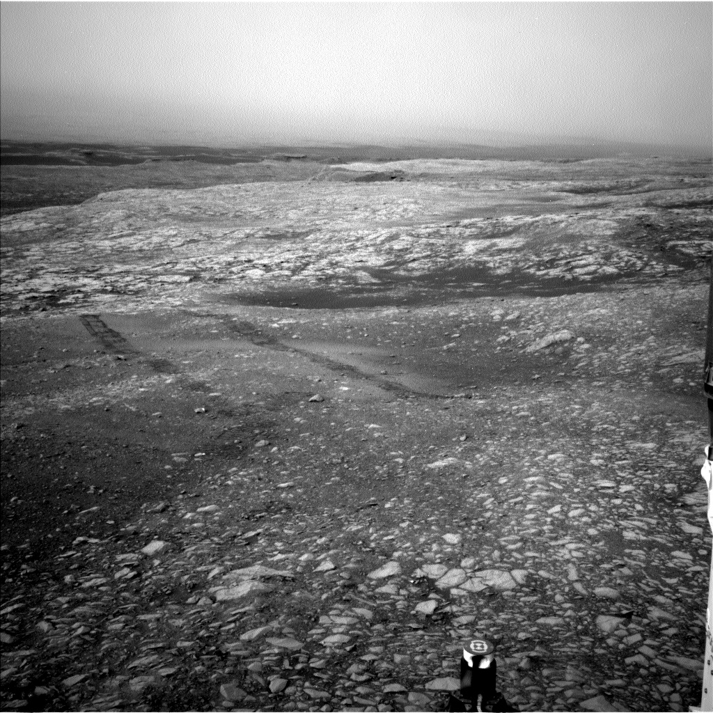 Nasa's Mars rover Curiosity acquired this image using its Left Navigation Camera on Sol 2157, at drive 1980, site number 72