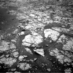 Nasa's Mars rover Curiosity acquired this image using its Right Navigation Camera on Sol 2157, at drive 1754, site number 72